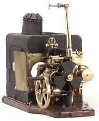 Image of a cinematograph lantern